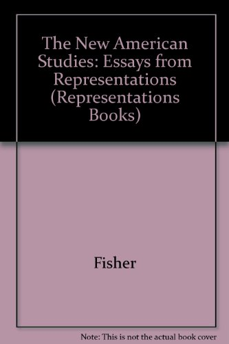 9780520073296: The New American Studies: Essays from Representations (Representations Books)