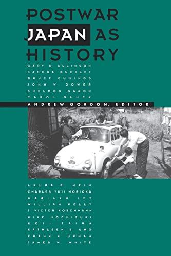 9780520074750: Postwar Japan as History