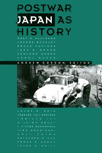9780520074750: Postwar Japan as History