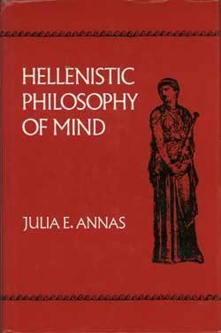 9780520075542: Hellenistic Philosophy of Mind (Hellenistic Culture & Society)