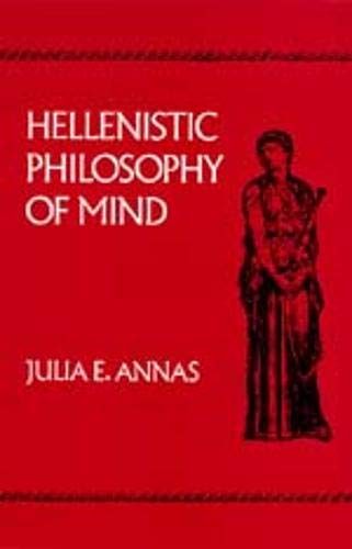 9780520076594: Hellenistic Philosophy of Mind (Hellenistic Culture and Society)