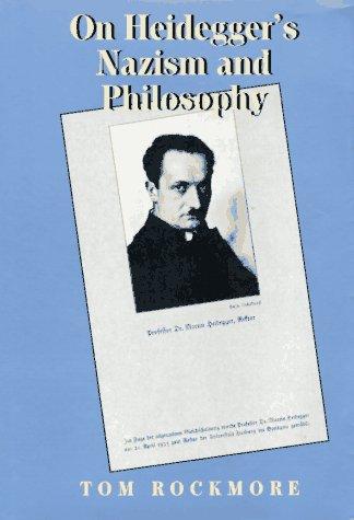 9780520077119: On Heidegger's Nazism and Philosophy