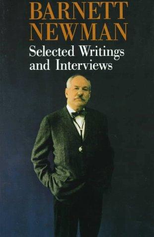 9780520078178: Barnett Newman: Selected Writings and Interviews