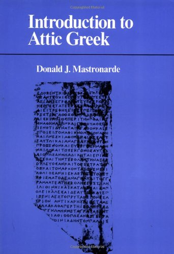 9780520078444: Introduction to Attic Greek