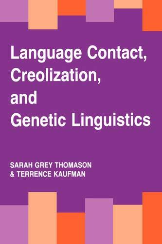 9780520078932: Language Contact, Creolization, and Genetic Linguistics