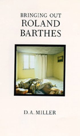 9780520079489: Bringing Out Roland Barthes