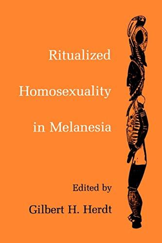 9780520080966: Ritualized Homosexuality in Melanesia (Studies in Melanesian Anthropology)
