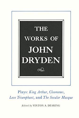9780520087668: The The Works of John Dryden: The Works of John Dryden, Volume XVI Plays -