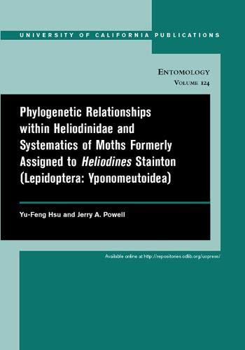 Phylogenetic Relationships within Heliodinidae and Systematics of Moths Formerly Assigned to ...