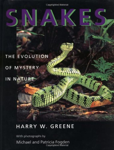 9780520200142: Snakes: The Evolution of Mystery in Nature (Director's Circle Book of the Associates of the University o)