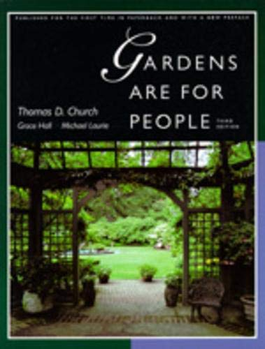 9780520201200: Gardens Are for People, Third Edition