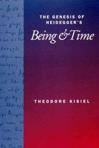 The genesis of Heidegger's Being & Time.
