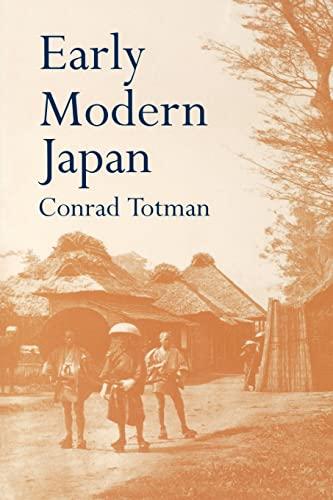 9780520203563: Early Modern Japan