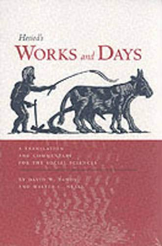 9780520203846: Works and Days: A Translation and Commentary for the Social Sciences