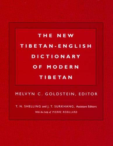 9780520204379: The New Tibetan-English Dictionary of Modern Tibetan