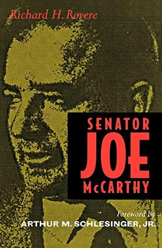 9780520204720: Senator Joe McCarthy