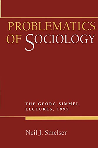 9780520206755: Problematics of Sociology: The Georg Simmel Lectures, 1995