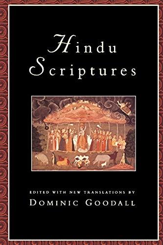 9780520207783: Hindu Scriptures