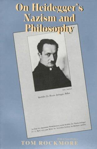9780520208988: On Heidegger's Nazism and Philosophy