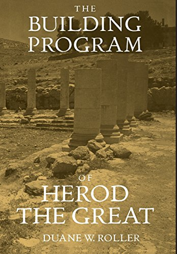 9780520209343: The Building Program of Herod the Great
