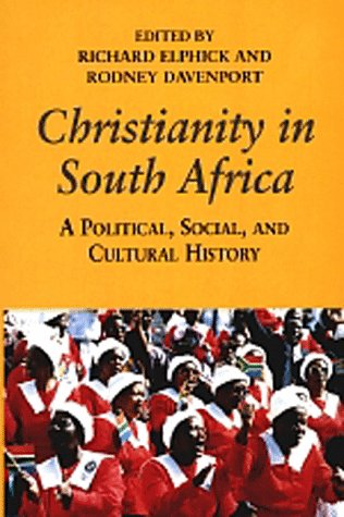 9780520209404: Christianity in South Africa: A Political, Social, and Cultural History (Perspectives on Southern Africa)