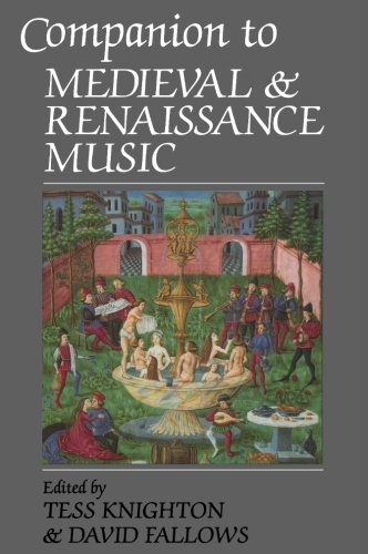9780520210813: Companion to Medieval and Renaissance Music