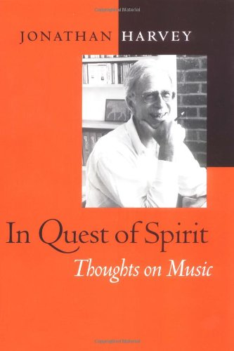 9780520213920: In Quest of Spirit: Thoughts on Music (Ernest Bloch Lectures)