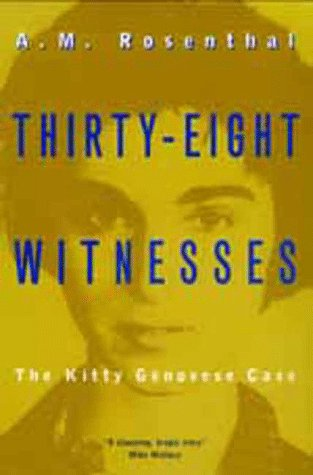 9780520215276: Thirty-Eight Witnesses: The Kitty Genovese Case