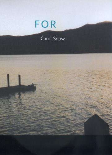 9780520217836: For (New California Poetry)