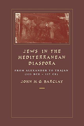9780520218437: Jews in the Mediterranean Diaspora: From Alexander to Trajan (323 Bce-117 Ce)