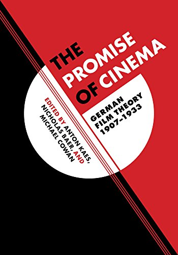 9780520219083: The Promise of Cinema: German Film Theory, 1907–1933 (Weimar and Now: German Cultural Criticism)