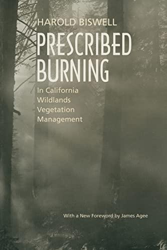 9780520219458: Prescribed Burning in California Wildlands Vegetation Management