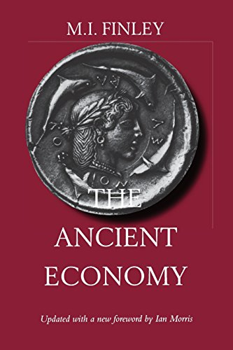 9780520219465: The Ancient Economy (Sather Classical Lectures)
