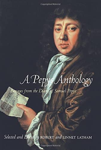 9780520221673: A Pepys Anthology
