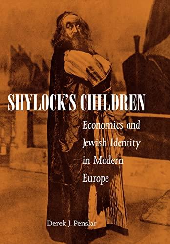 9780520225909: Shylock's Children: Economics and Jewish Identity in Modern Europe