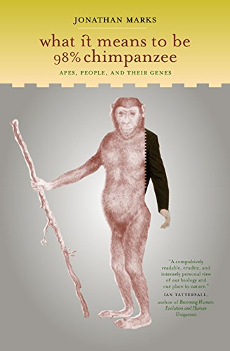 9780520226159: What it Means to be 98% Chimpanzee: Apes, People, and their Genes