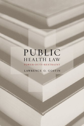 9780520226463: Public Health Law: Power, Duty, Restraint (California/Milbank Series on Health and the Public)