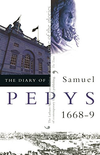 9780520227019: The Diary of Samuel Pepys, Vol. 9: 1668-1669