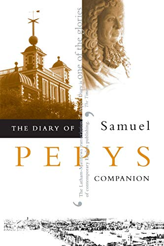 9780520227156: Diary of Samuel Pepys: Companion v. 10