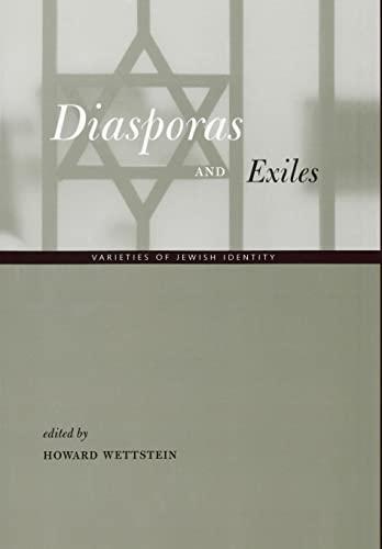 9780520228641: Diasporas & Exiles - Varieties of Jewish Identity