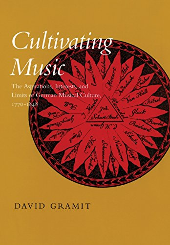 9780520229709: Cultivating Music: The Aspirations, Interests, and Limits of German Musical Culture, 1770-1848