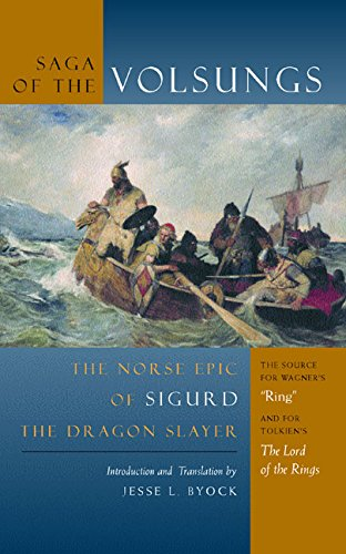 9780520232853: Saga of the Volsungs: Norse Epic of Sigurd the Dragon Slayer: The Norse Epic of Sigurd the Dragon Slayer
