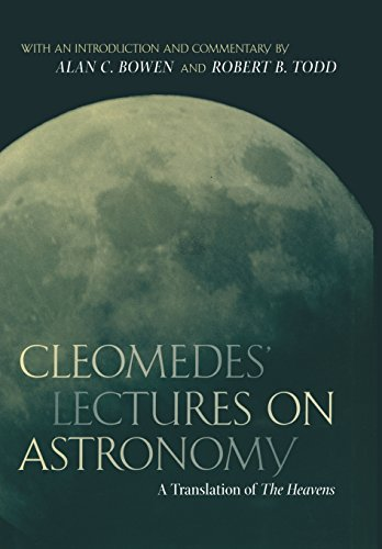 9780520233256: Cleomedes' Lectures on Astronomy: A Translation of the Heavens