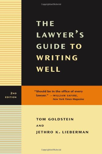 9780520234727: The Lawyer's Guide to Writing Well