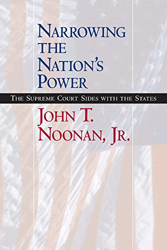 9780520235748: Narrowing the Nation's Power: The Supreme Court Sides with the States