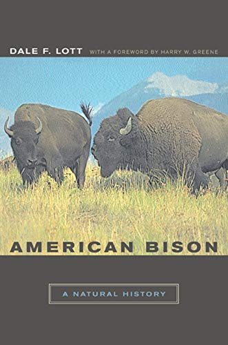 9780520240629: American Bison: A Natural History (Organisms and Environments)