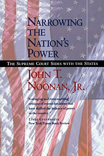9780520240681: Narrowing the Nation's Power: The Supreme Court Sides with the States