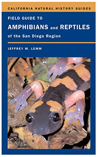 9780520245747: Field Guide to Amphibians and Reptiles of the San Diego Region (California Natural History Guides)