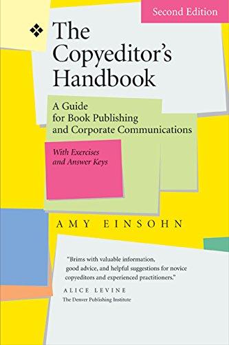 The Copyeditor's Handbook : A Guide for: Amy Einsohn