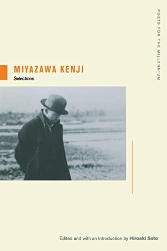 Miyazawa Kenji: Selections (Poets for the Millennium): Miyazawa, Kenji
